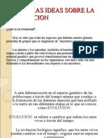 Primeras Ideas Sobre La Evolucion