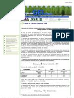 13.47 Programa GEI México - factores de emision de la red electrica