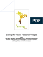 Ecology for Peace Research Villages