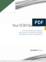 Your ECM Scorecard