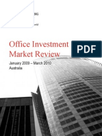 JLL Australia Office Market Investment Review Apr 2010