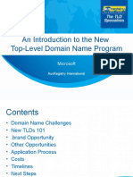 ARI New gTLD Program Summary - Generic