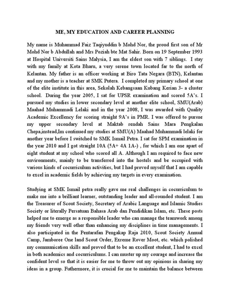 contoh essay pinjaman mara