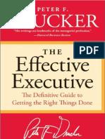 Nhà quản trị Thành Công - The Effective Excutive [ Peter F. Drucker ]