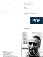 Barthes, Roland. Roland Barthes Par Roland Barthes