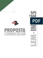Proposta Curricular de Lingua Inglesa 2008