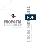 Proposta Curricular Lingua Portuguesa2008