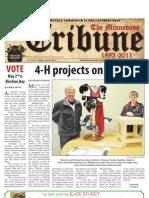 Front Page - April 29,2011