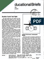 NASA Educational Briefs for the Classroom. Shuttle's Fourth Test Flight