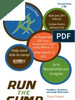 Run the Gump Poster