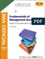 CIMA-Fundamental of Management Accounting