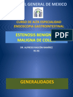 Estenosis Benigna y Maligna de Colon