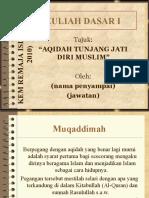 Kuliah dasar- Aqidah