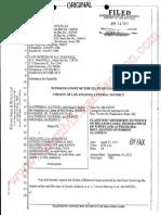 J VS AEG, PLAINTIFF OPPOSITION TO NOTICE OF RELATED CASE