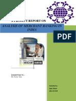 Final Report..on Mechant Banking 1 - Copy