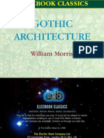 William Morris - Gothic Architecture