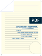 Bangalore Travelogue