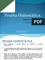 pruebas hidrostaticas
