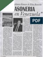 Masonería en Venezuela N 17