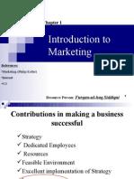 1.Basics of Marketing (E9-11)