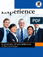 Experience Ajourney of Excellence