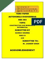 Gaurav Tem Paper Automobile