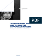 Transportation Mngt and the Adaptive Supply Chain