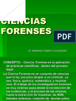 CIENCIAS FORENSES