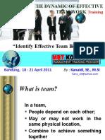 Effective Team Behaveor