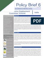 The Maharashtra Employment Guarantee Scheme