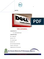 Report on Dell Company