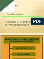 Ravi Dholakiya Roll No. 18 (Paper-I) Accounting Cycle