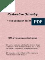 Sandwich Technique Presentation
