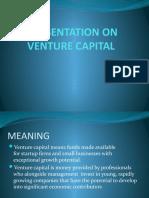 Ppt on Venture Capital