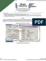 Part 1 - How to Make a Key Generator Using W32Dasm