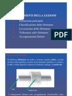 5 - Filettature e Collegamenti Filettati