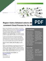 Region Västra Götaland selects eBuilder's Pro-curement Cloud Process for its value network