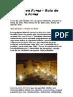 Turismo en Roma