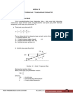 Perhitungan Eskalator Bearing
