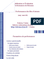 Performances Des Files d'Attente