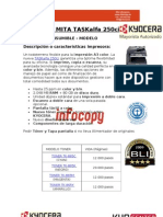 Toner original para Kyocera Mita TASKalfa 250ci
