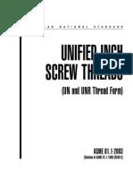 Cuprins Unified Inch Screw Threads ASME B1.1-2003