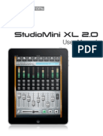 Studio Mini XL Manual