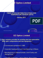 Power Point Fiber Optic Distributed Strain and Temperature Sensors