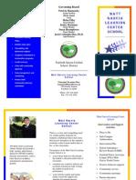 Garcia School Brochure