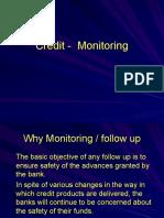 Credit - Monitoring