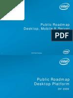 Intel Roadmap