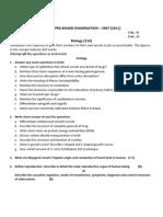 Hissan Pre-Board Exam 2067 Biology Xii