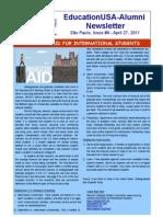 EdUSA-Alumni Newsletter, Issue #9