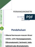PERMANGANOMETRI